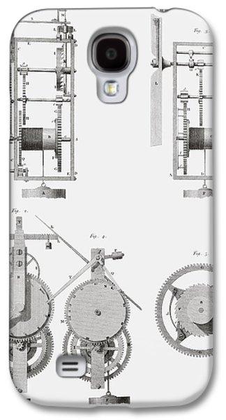 An Ancient Clock Built By Henry De Wick Galaxy S4 Case