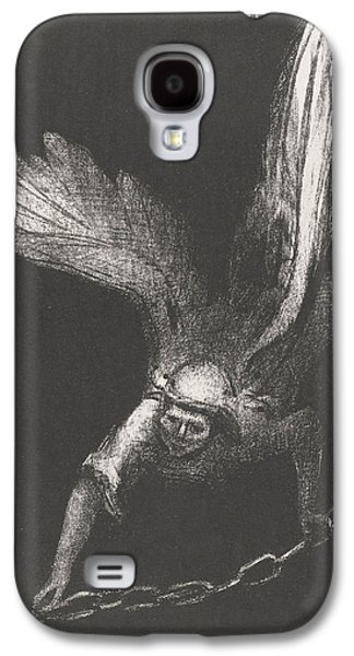 An Angel With A Chain In His Hands Galaxy S4 Case