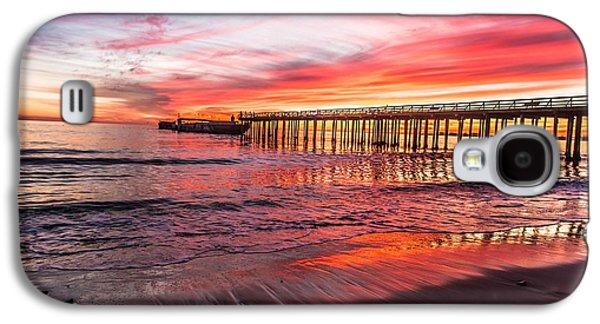 Seacliff Sunset Galaxy S4 Case by Lora Lee Chapman