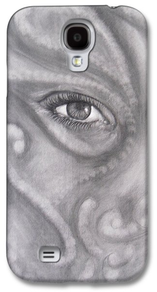 An Eye On You Galaxy S4 Case by Adrienne Martino