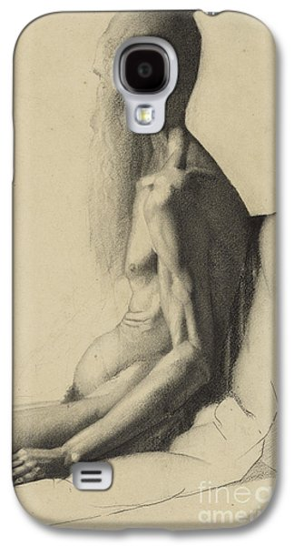 An Indian Man Galaxy S4 Case by Georges Pierre Seurat