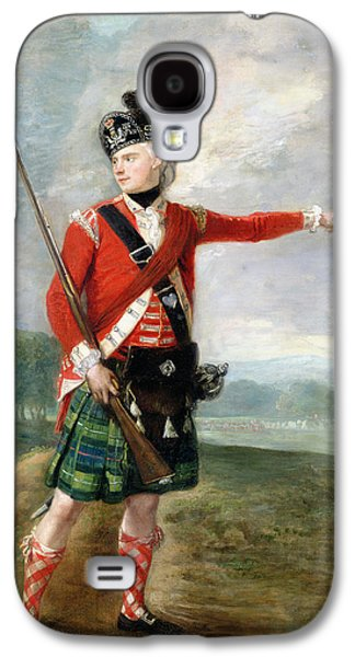 An Officer Of The Light Company Of The 73rd Highlanders Galaxy S4 Case by Scottish School
