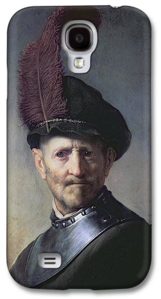 An Old Man In Military Costume Galaxy S4 Case