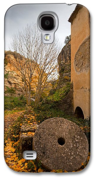 An Old Mill Wheel Outside An Old Flour Galaxy S4 Case by Panoramic Images