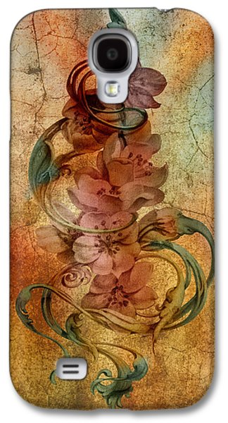 An Vintage Cherry Blosom Galaxy S4 Case by Irina Effa