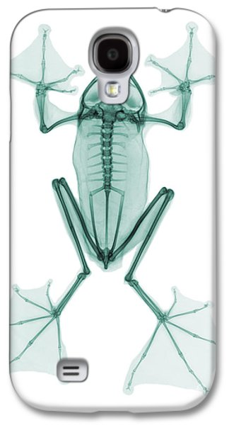 An X-ray Of A Flying Frog Galaxy S4 Case by Ted Kinsman