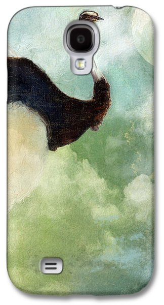 Ostrich Galaxy S4 Case - Anastasia's Ostrich by Mindy Sommers