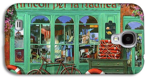 Ancora Una Bicicletta Rossa Galaxy S4 Case by Guido Borelli