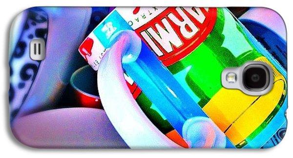 And A Jumble Of Mugs.... #mugs #jumble Galaxy S4 Case by Mark  Thornton