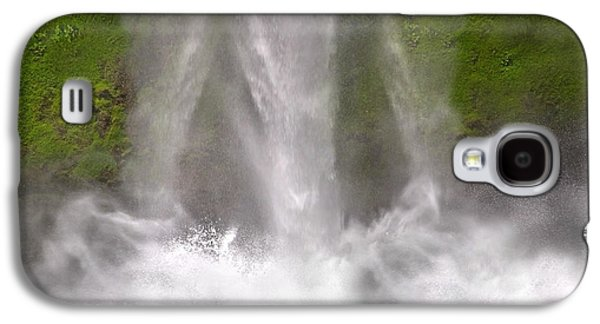 And Down Comes The Water Galaxy S4 Case by Betsy Knapp
