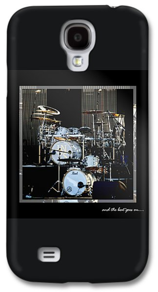 Drum Galaxy S4 Case - And The Beat Goes On.... by Holly Kempe
