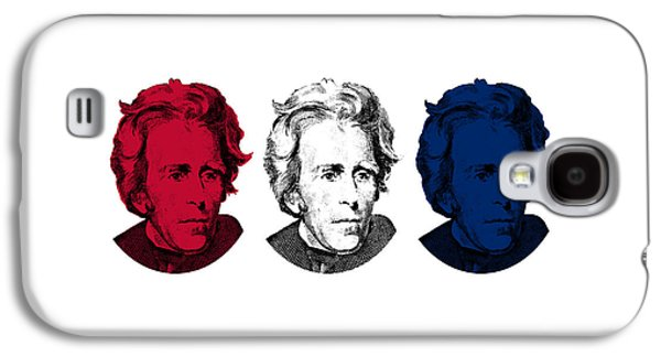 Andrew Jackson Red White And Blue Galaxy S4 Case by War Is Hell Store