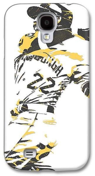 Andrew Mccutchen Pittsburgh Pirates Pixel Art 1 Galaxy S4 Case