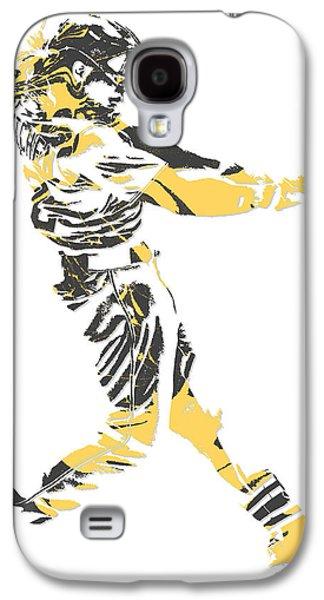 Andrew Mccutchen Pittsburgh Pirates Pixel Art 2 Galaxy S4 Case