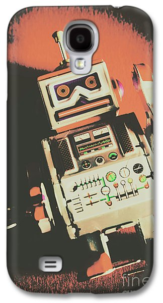 Android Short Circuit  Galaxy S4 Case by Jorgo Photography - Wall Art Gallery