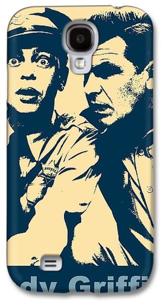 Andy Griffith Poster Galaxy S4 Case by Dan Sproul