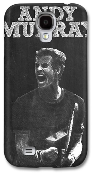 Andy Murray Galaxy S4 Case by Semih Yurdabak