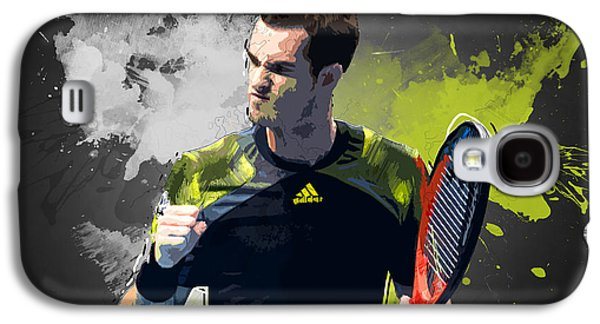 Serena Williams Galaxy S4 Case - Andy Murray by Semih Yurdabak