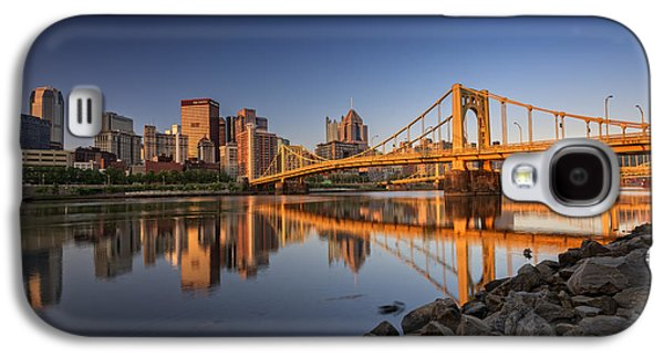 Andy Warhol Bridge Galaxy S4 Case by Rick Berk