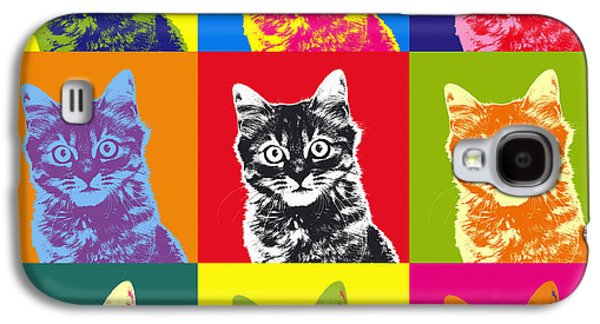 Andy Warhol Cat Galaxy S4 Case