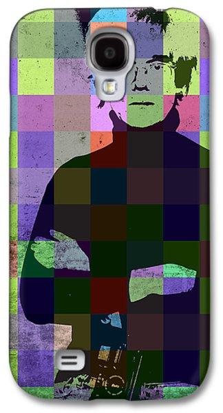 Andy Warhol Hollywood Pop Art Patchwork Portrait Pop Of Color Galaxy S4 Case