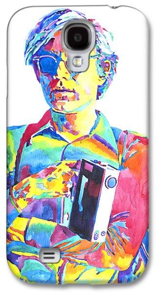 Andy Warhol - Media Man Galaxy S4 Case