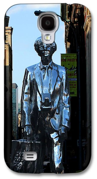 Andy Warhol New York Galaxy S4 Case by Andrew Fare
