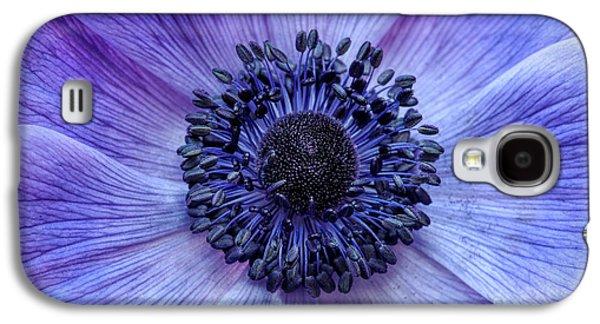 Anemone Blue Galaxy S4 Case