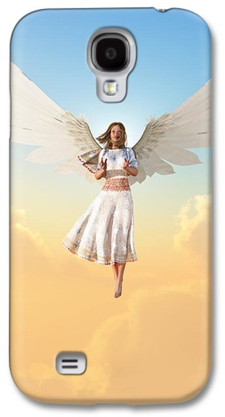 Angel Galaxy S4 Case by Christian Art