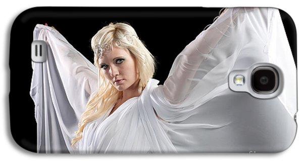 Angel Goddess Galaxy S4 Case by Cindy Singleton