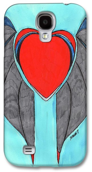 Angel Heart Galaxy S4 Case by Ronald Woods