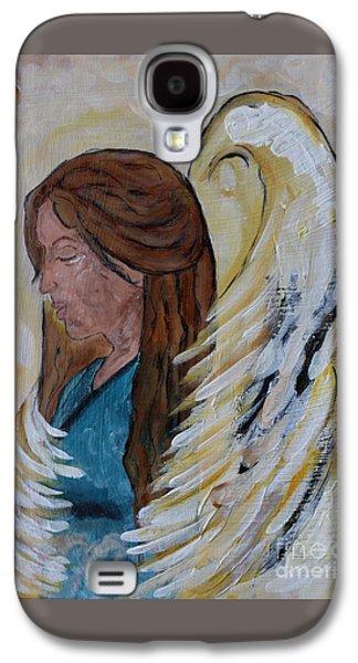 Angel Of Comfort Galaxy S4 Case by Ella Kaye Dickey