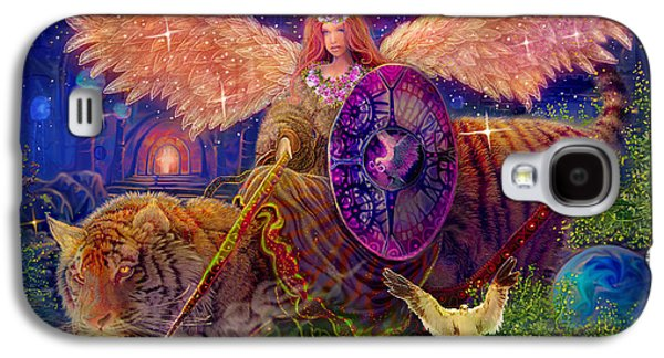 Angel Tarot Card Angel Fairy Dream Galaxy S4 Case