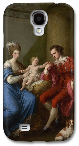 Angelica Kauffmann    Edward Smith Stanley 17521834 Twelfth Earl Of Derby With His First Wife Lady Elizabeth Hamilton 17531797 And Their Son Edward Smith Stanley 17751851 Galaxy S4 Case