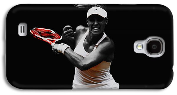 Angelique Kerber 3e Galaxy S4 Case by Brian Reaves