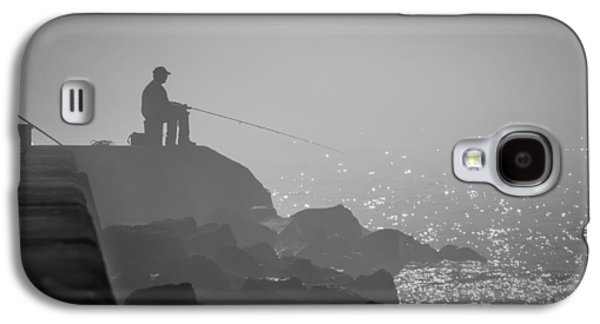 Angling In A Fog  Galaxy S4 Case