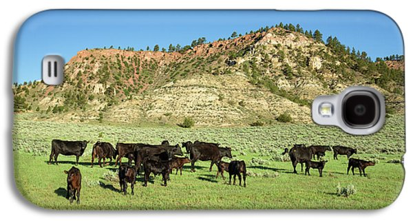 Angus At Cherry Butte Galaxy S4 Case