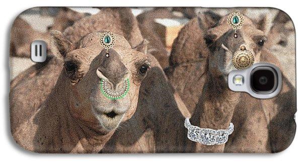 Animal Royalty 5 Galaxy S4 Case by Sumit Mehndiratta