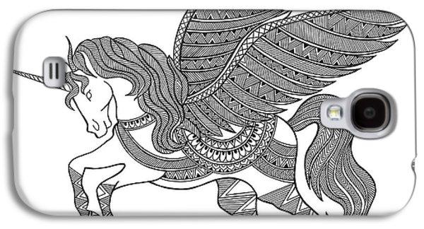 Animal Unicorn Galaxy S4 Case by Neeti Goswami