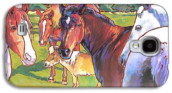 Anjelica Huston's Horses Galaxy S4 Case
