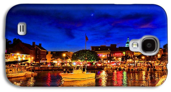 Annapolis Magic Night Galaxy S4 Case by Olivier Le Queinec
