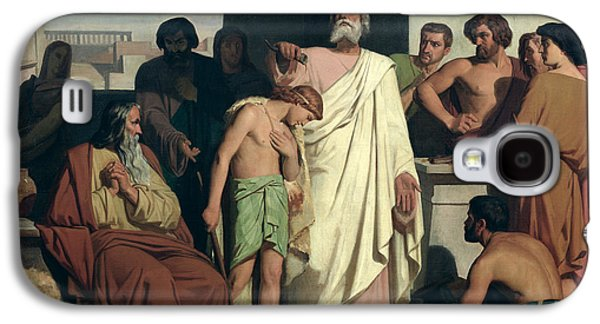 Annointing Of David By Saul Galaxy S4 Case