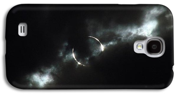 Solar Eclipse Galaxy S4 Cases - Annular Eclipse Ring of Fire 2012 Galaxy S4 Case by Scott McGuire