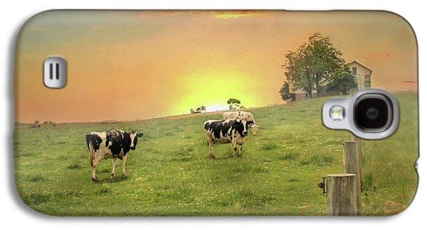 Annville Cows Galaxy S4 Case by Lori Deiter