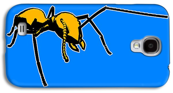 Ant Galaxy S4 Case - Ant Graphic  by Pixel  Chimp