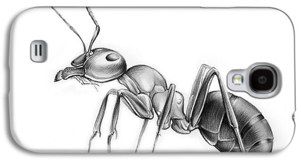 Ant Galaxy S4 Case - Ant by Greg Joens