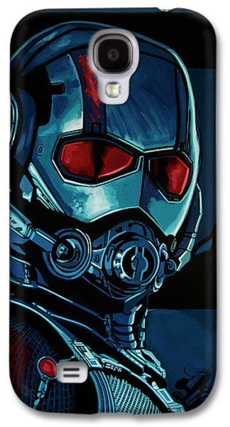 Ant Man Painting Galaxy S4 Case