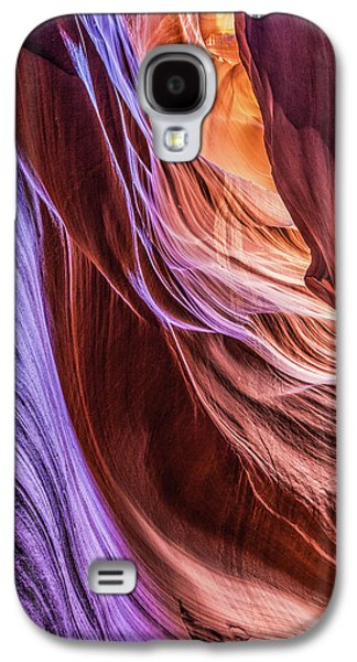 Antelope Canyon Air Glow Galaxy S4 Case