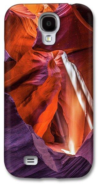 Antelope Canyon Lightshaft 3 Galaxy S4 Case
