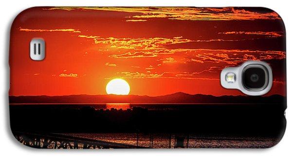 Antelope Island Marina Sunset Galaxy S4 Case